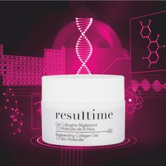 The Regenerating Collagen Gel uses our patented ingredient, Vectorised Micro-Collagen, to smooth, plump, hydrate, firm and repair. Have you tried it yet? #Resultime