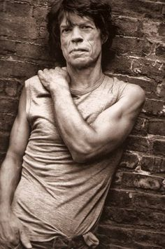Mick by Mark Seliger -repinned by San Francisco studio photographer http://LinneaLenkus.com #fineartphotography