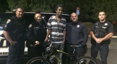 A California teen used to walk nearly five hours to and from work every day, but thanks to the kindness of local police officers and support from their community, he can now drive the distance.