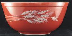 Vintage Pyrex Autumn Harvest 403 2.5 Quart Nesting Mixing Bowl by BirdAvenueVintage on Etsy