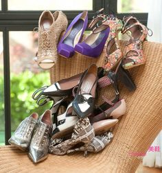 Shoes are great when it comes to fashion. You could be wearing something plain then pop the color of the shoe :)