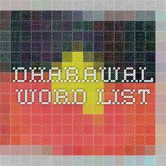 dhurga and darawal language dictionary