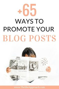 That is why I put together a list of +65 ways to promote your blog posts so you can draw inspiration, test out new blog promotion strategies and boost your blog traffic. Get my free checklist and build your blog readership today!