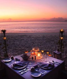 Private dinner for two on the beach at Villa del Arco Beach Resort & Spa Los Cab. - Private dinner for two on the beach at Villa del Arco Beach Resort & Spa Los Cabos. Romantic Picnics, Romantic Beach, Romantic Night, Romantic Dates, Romantic Dinners, Romantic Ideas, Romantic Dinner Setting, Romantic Travel, Beach Dinner