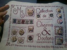 Ma collection de boutons