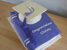 Chocolate Graduation Cakes cakepins.com
