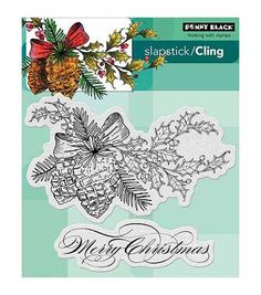 Beautify your paper crafting projects with fabulous inked impressions, using the Penny Black Cling Rubber Stamps. Made of high-quality red rubber, these stamps feature a 1/8-inch foam pad for enhanced