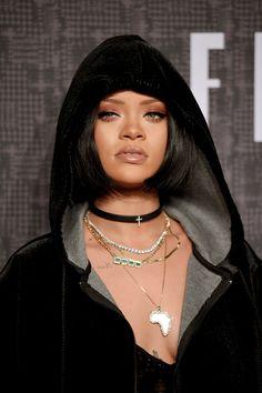 The Best of both worlds www.annasmindscape.com - hellyeahrihannafenty: Rihanna at FENTYxPUMA...
