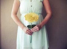 Felt Flowers: 3 Fresh Ideas for a Handmade Wedding | Emmaline Bride®
