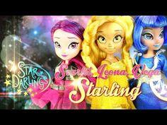 Doll Review: Disney Star Darlings - Scarlet, Leona & Vega Starling - YouTube