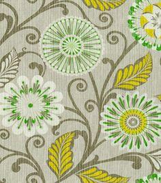 @HGTV HOME #fabric: Urban Blossom Platinum Joann.com