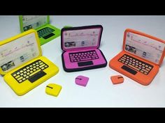 DIY Doll Laptop for LPS or MLP - YouTube