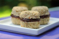 Beautiful!: Raw Vanilla-Spice Macaroons with Cacao Cream Filling from Nicole Axworthy
