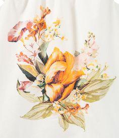 Image 3 de robe avec imprimé centrale de Zara