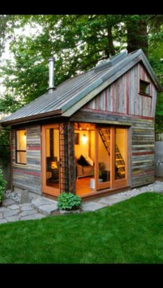 Rustic And Beautiful Backyard Micro House Is Built From Recycled Barnboard  The Backyard House U2013 Inhabitat   Sustainable Design Innovation, Eco  Architecture, ...