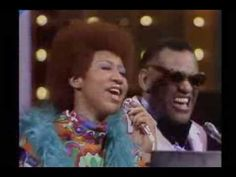 "Ray Charles & w/Aretha Franklin - ""Georgia On My Mind"" & ""It Takes Two to Tango""...Live on The Midnight Special....So flippin' good!!!"