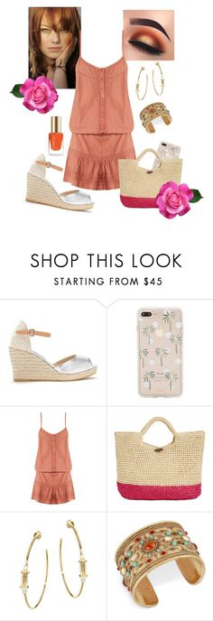 By Summer by mariana-cufari on Polyvore featuring moda, Melissa Odabash, Kanna Shoes, INC International Concepts, Jules Smith, Lucky Brand and Sonix
