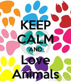 Keep Calm and Love Animals                                                                                                                                                      More