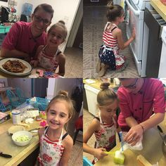I had so much fun baking with Ms. Reagan this week!  Sharing my love for baking with others is very special! #young #baker #lessons #apple #pie #sugar #cookies #decorated #patientlywaiting #chef #coat #oven #birthday #present #reagan #special