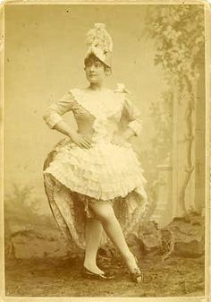 La Goulue (Lousie Weber) - famous French can-can dancer of the Moulin Rouge