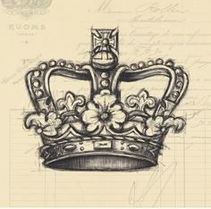 Think I found the crown tattoo Ive wanted! tattoo | tattoos picture crown tattoo by pat-75