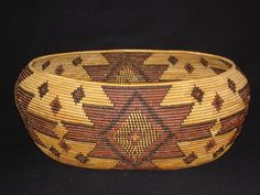 Maidu Native American Indian Baskets, Basketry - Gene Quintana Fine Art - Indian Baskets