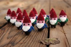 One Tiny Gnome Army. I don't know why this strikes me as a holiday thing but it does.