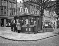 The kiosk at Engen .. Photo: K. K. from Picture Collection UiB