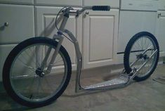 Homemade Scooter Plans | AtomicZombie Bikes, Trikes, Recumbents, Choppers, Ebikes, Velos and ...