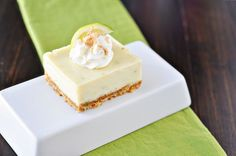 10 Key Lime Pie Recipes That Will Never Let You Down- Key Lime Pie Bars