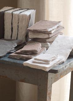handmade journals / paper