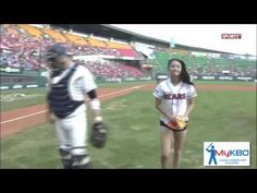 Actress Tosses The Most Amazing First Pitch Ever