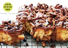 The Ultimate Sticky Buns - can be assembled the nite before, needing only a final rise before baking in the morning