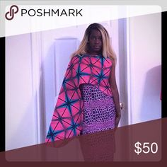 African print dress Brand new African print dress Dresses Midi