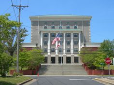 "Dekalb County courthouse, Fort Payne, Alabama, more famously known as the hometown of ""Alabama."""