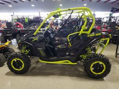 Used 2016 Can-Am Maverick™ X® ds Turbo ATVs For Sale in Illinois. Race-Proven Turbo engine, fully adjustable Fox Shocks and premium cockpit; everything you need to stay ahead of the dust.