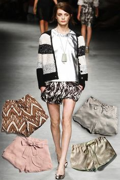 Fashion Trends Summer 2012: The 16 coolest Basics for the Summer Styling - German GLAMOUR. Loose, comfy shorts.