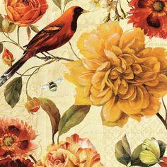 Rainbow Garden Spice II by Lisa Audit art print