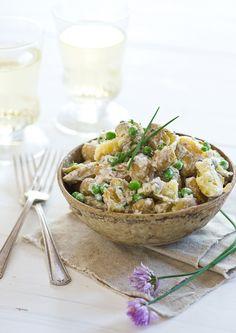 New Potato & Pea Salad