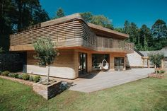 Cornwall Home Covered With Steam-Bent Timber