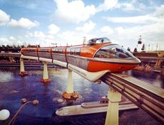 The History of the Disneyland Monorail: Mark II, 1961-1969 #DisneyLand #Monorail #MarkII