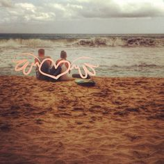 Beach always give some power of Love