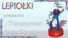 Tommynaut Armikrog, polymer clay,  Tommynaut,made handBeak-Beak,