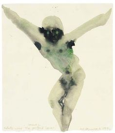 View Jesus - Sketch for The Perfect Lover by Marlene Dumas on artnet. Browse upcoming and past auction lots by Marlene Dumas. Marlene Dumas, Figure Painting, Painting & Drawing, Rodin Drawing, Jesus Sketch, Artist Sketchbook, Famous Art, Art Moderne, Rembrandt