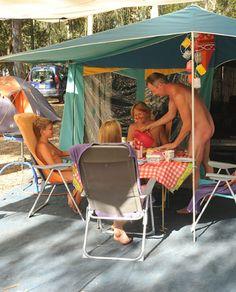 Interesting. Tell nudist camp moms