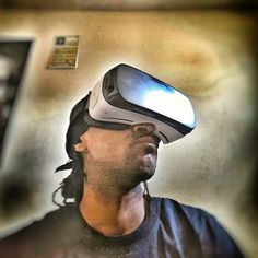 An awesome Virtual Reality pic! When you experience #virtualreality for the 1st time #UrbanPov #galaxynote5 #GearVR #Samsung #Notography #instagram #instagramhub #androidography #igers #igdaily #instalike #instapic #techporn #technology #flagship #cool #toys #vr #360 #3D by crookbladez check us out: http://bit.ly/1KyLetq