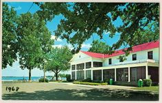 Oakwood Hotel, Lake Wawasee, Syracuse, Indiana circa 1968. Fond childhood memories.