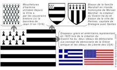Gwenn ha du : drapeau de la Bretagne >> Geobreizh.com