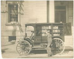 Bookmobile-- Western Maryland Historical Library