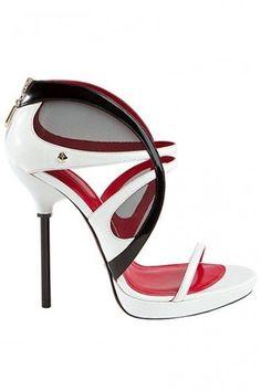 Sandali bianchi Cesare Paciotti